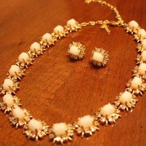 Lele Sadoughi Necklace and Earring Set